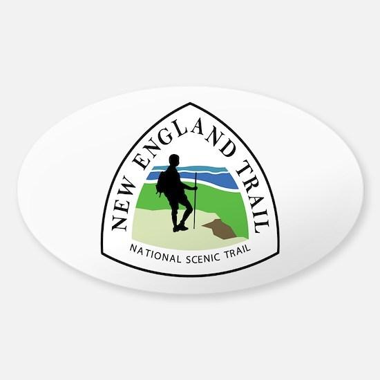 New England National Trail Sticker (Oval)