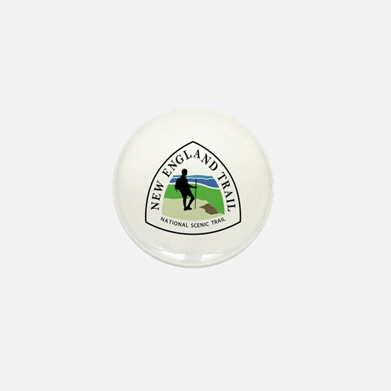 New England National Trail Mini Button