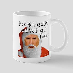 Trump Santa Mugs