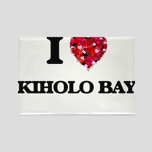 I love Kiholo Bay Hawaii Magnets
