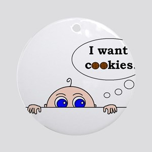 COOKIES! Ornament (Round)