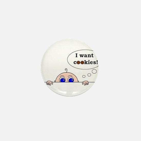 COOKIES! Mini Button