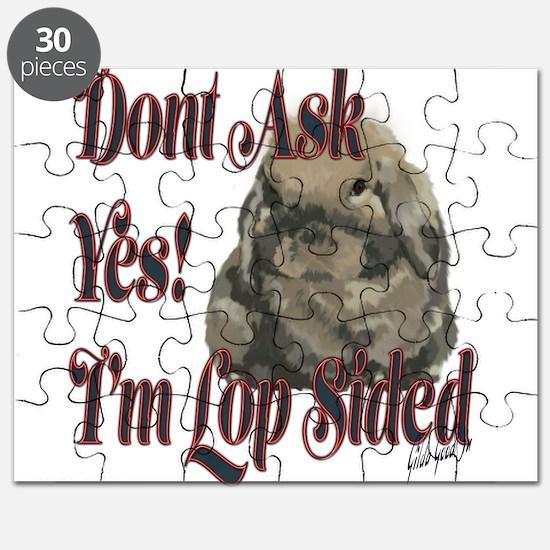 Holland Lop Rabbit Puzzle