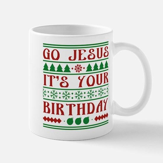 Go Jesus It's Your Birthday Mug