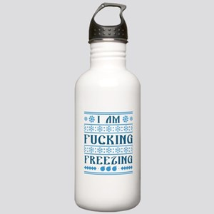 I Am Fucking Freezing Stainless Water Bottle 1.0L