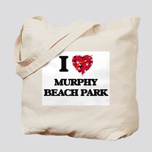 I love Murphy Beach Park Hawaii Tote Bag