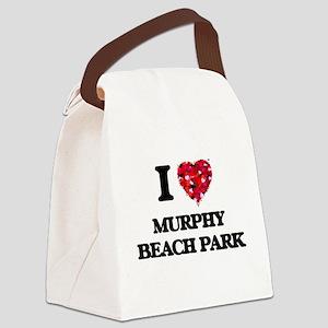 I love Murphy Beach Park Hawaii Canvas Lunch Bag
