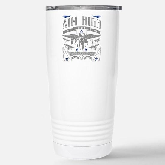Aim High Fly Figh Travel Mug