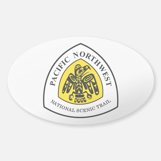 Pacific Northwest National Trail Sticker (Oval)