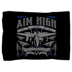 Aim High Fly Fight Win Pillow Sham