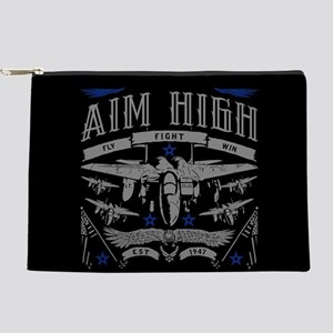 Aim High Fly Fight Win Makeup Bag