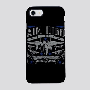 Aim High Fly Fight Win iPhone 8/7 Tough Case