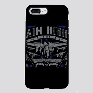 Aim High Fly Fight Win iPhone 8/7 Plus Tough Case