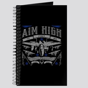 Aim High Fly Fight Win Journal