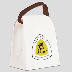 Iditarod National Trail, Alaska Canvas Lunch Bag