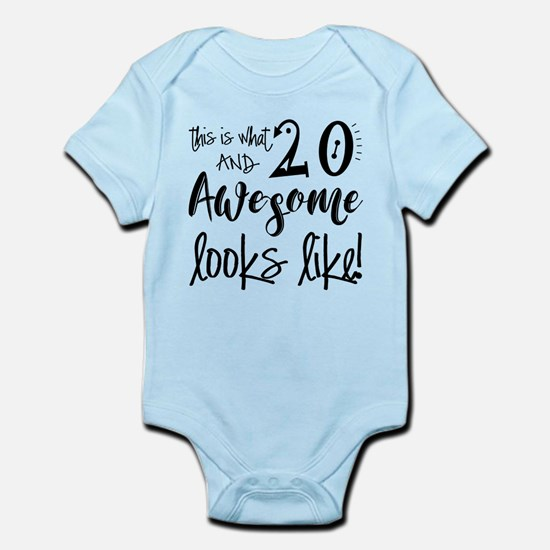 Awesome 20 Years Old Infant Bodysuit