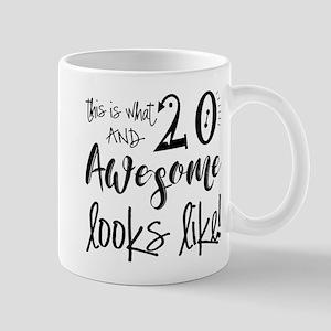 Awesome 20 Years Old Mug