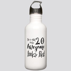 Awesome 20 Years Old Stainless Water Bottle 1.0L