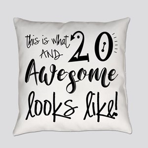 Awesome 20 Years Old Everyday Pillow