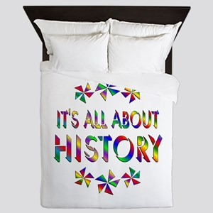 All About History Queen Duvet