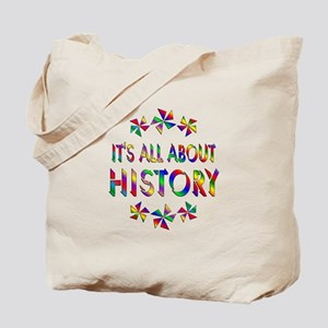 All About History Tote Bag