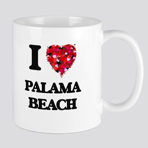 I love Palama Beach Hawaii Mugs