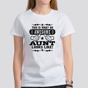 Awesome Aunt Women's T-Shirt
