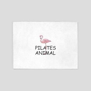 Pilates Animal 5'x7'Area Rug