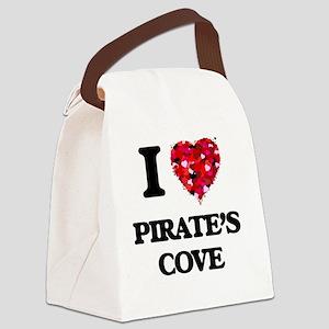 I love Pirate'S Cove Alabama Canvas Lunch Bag