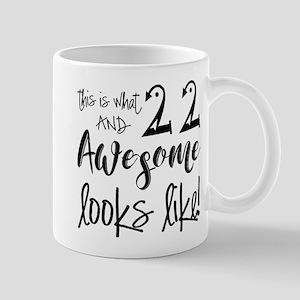 Awesome 22 Year Old Mug
