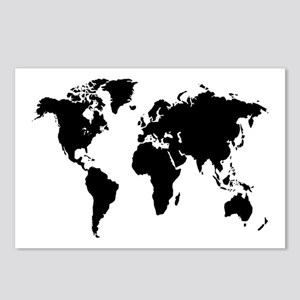 The World Postcards (Package of 8)