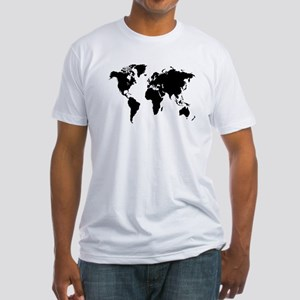 The World Fitted T-Shirt