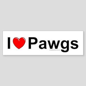 Pawgs Sticker (Bumper)