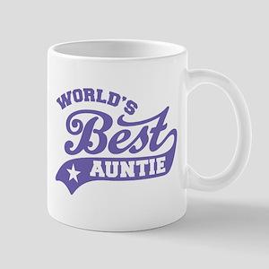 World's Best Auntie Ever Mug