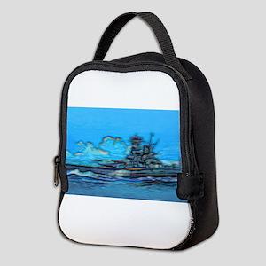 Battleship Neoprene Lunch Bag
