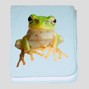 Pyonkichi the Frog baby blanket