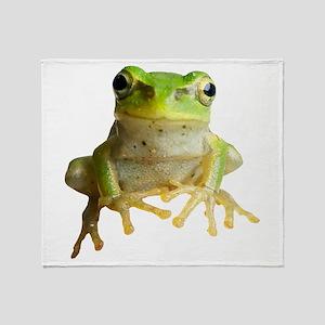 Pyonkichi the Frog Throw Blanket