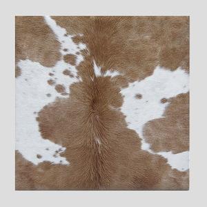 Cowhide Tile Coaster