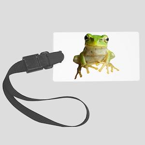 Pyonkichi the Frog Large Luggage Tag