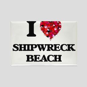 I love Shipwreck Beach Hawaii Magnets