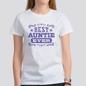 Best Auntie Ever Women's T-Shirt