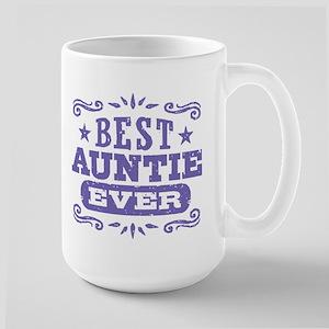 Best Auntie Ever Large Mug
