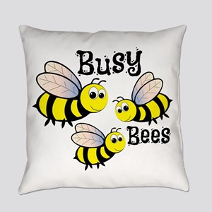 Busy Bees Everyday Pillow