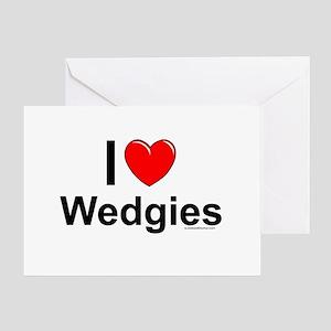 Wedgies Greeting Card