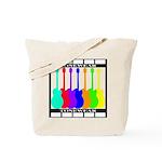 Rainbowear black Tote Bag