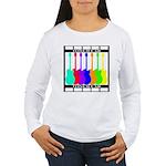 Rainbowear black Women's Long Sleeve T-Shirt