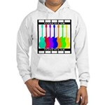 Rainbowear black Hooded Sweatshirt