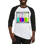Rainbowear black Baseball Jersey