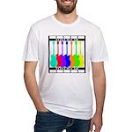 Rainbowear black Fitted T-Shirt