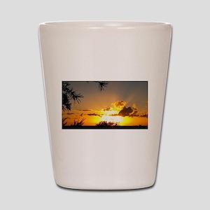 Sunset To Inspire Shot Glass